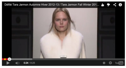 Tara Jarmon : Collection AH 2012