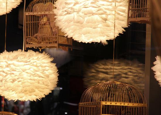 pin luminaire plumes dans achetez au meilleur prix avec on pinterest. Black Bedroom Furniture Sets. Home Design Ideas