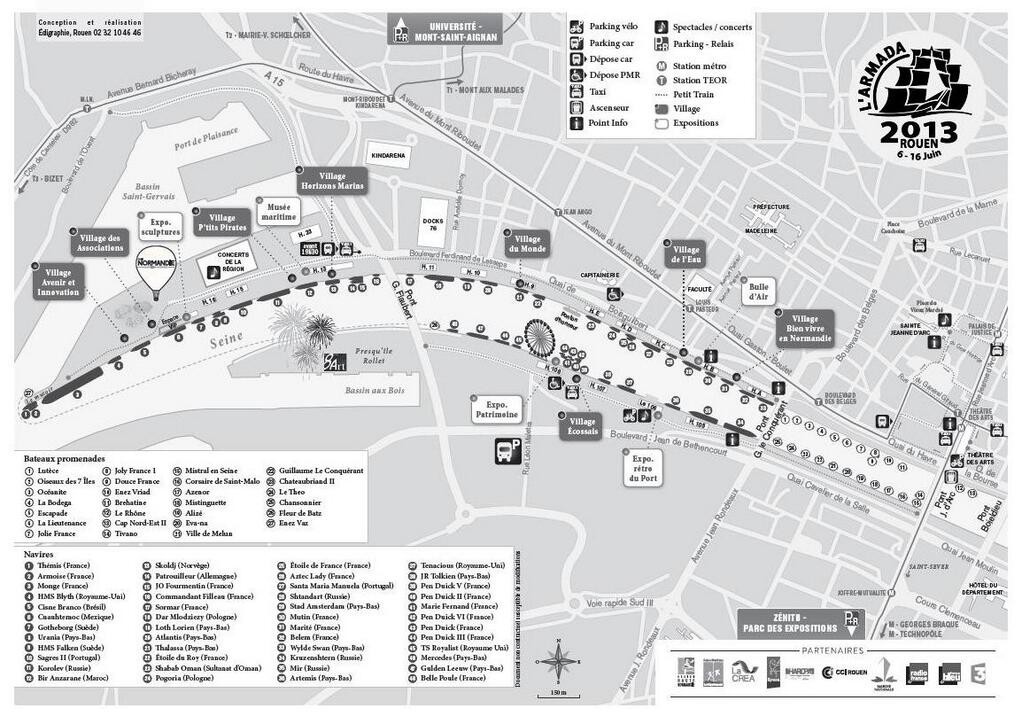 site plan q Rouen