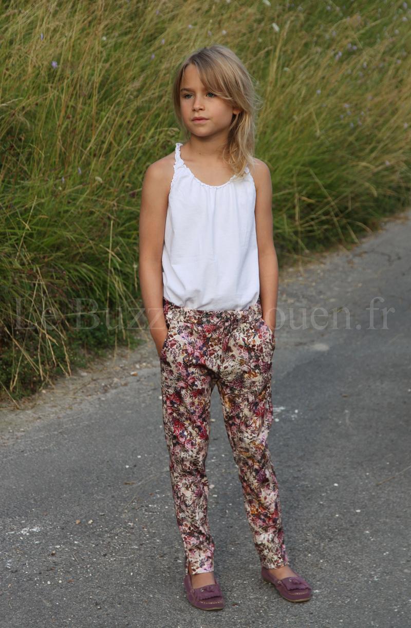 Le Pantalon Fleuri Zara Kid's - Le Buzz de