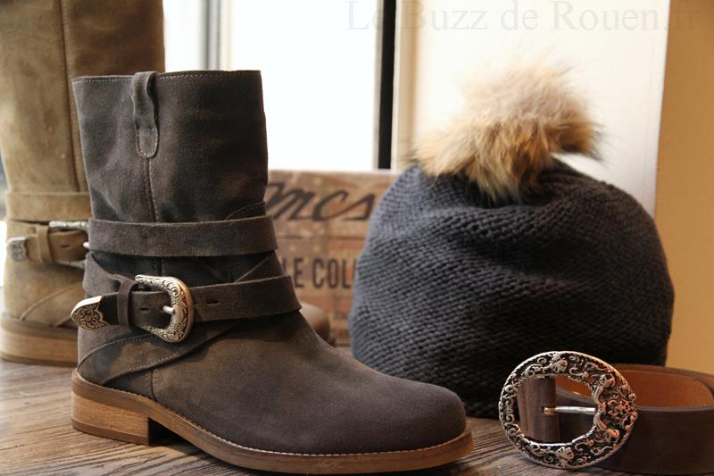 boots biker mcs femme hiver 2014 le buzz de rouen. Black Bedroom Furniture Sets. Home Design Ideas