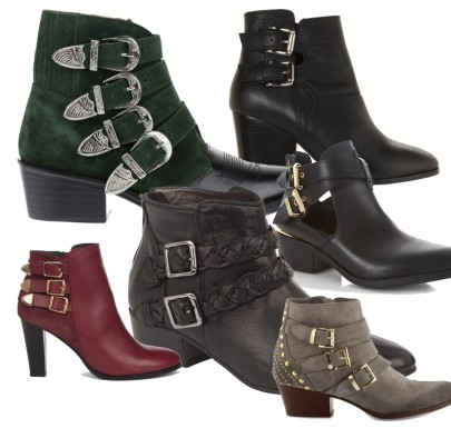 Les Low Boots à boucles Automne 2013