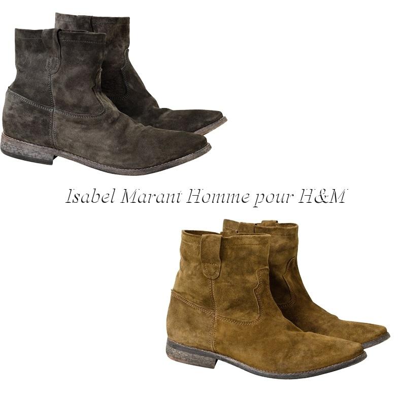 tout neuf d0d91 170c4 chaussures homme isabel marant pour hm - Le Buzz de Rouen