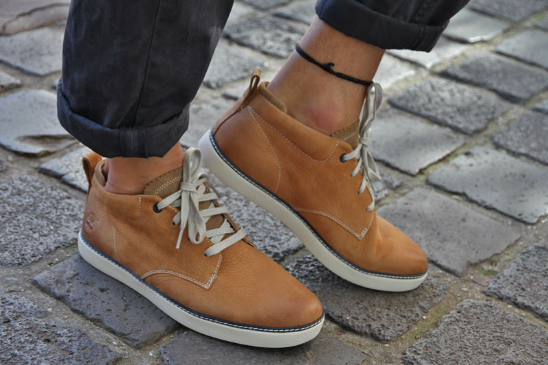 les baskets homme timberland
