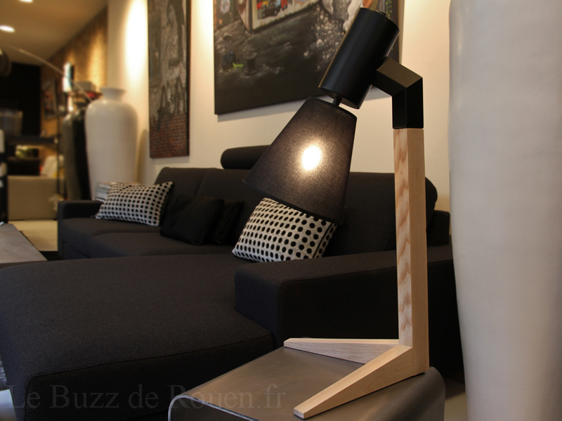 lampe flam luce le buzz de rouen. Black Bedroom Furniture Sets. Home Design Ideas