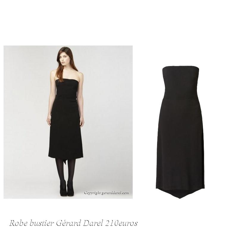 robe bustier gerard darel automne hiver 2013 2014 le buzz de rouen. Black Bedroom Furniture Sets. Home Design Ideas