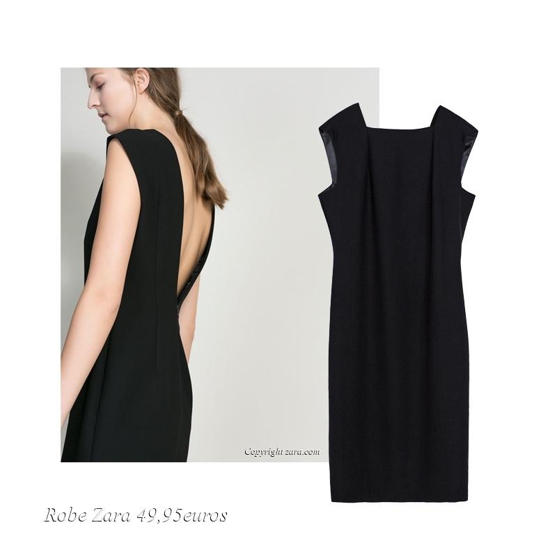 robe dos v zara automne hiver 2013 2014 le buzz de rouen. Black Bedroom Furniture Sets. Home Design Ideas