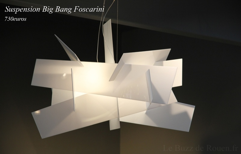 suspension big bang foscarini le buzz de rouen. Black Bedroom Furniture Sets. Home Design Ideas