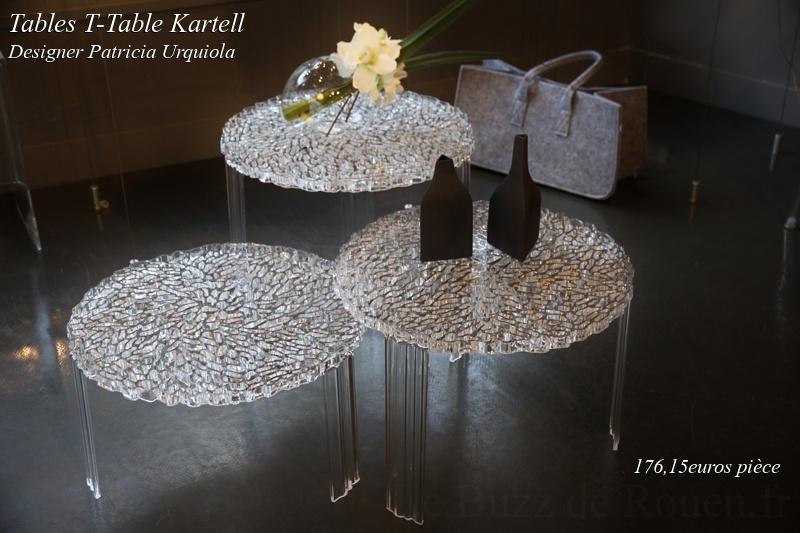 t table patricia urquiola kartell - Le Buzz de Rouen