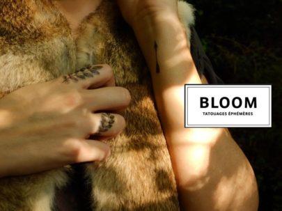 Les Tatouages éphémères Bloom