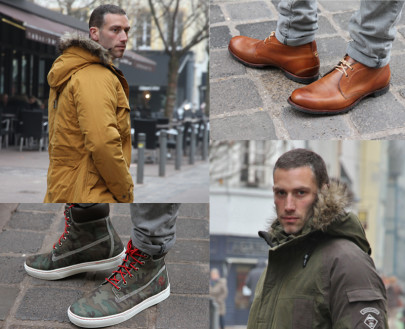 Les parkas Timberland Hiver 2014