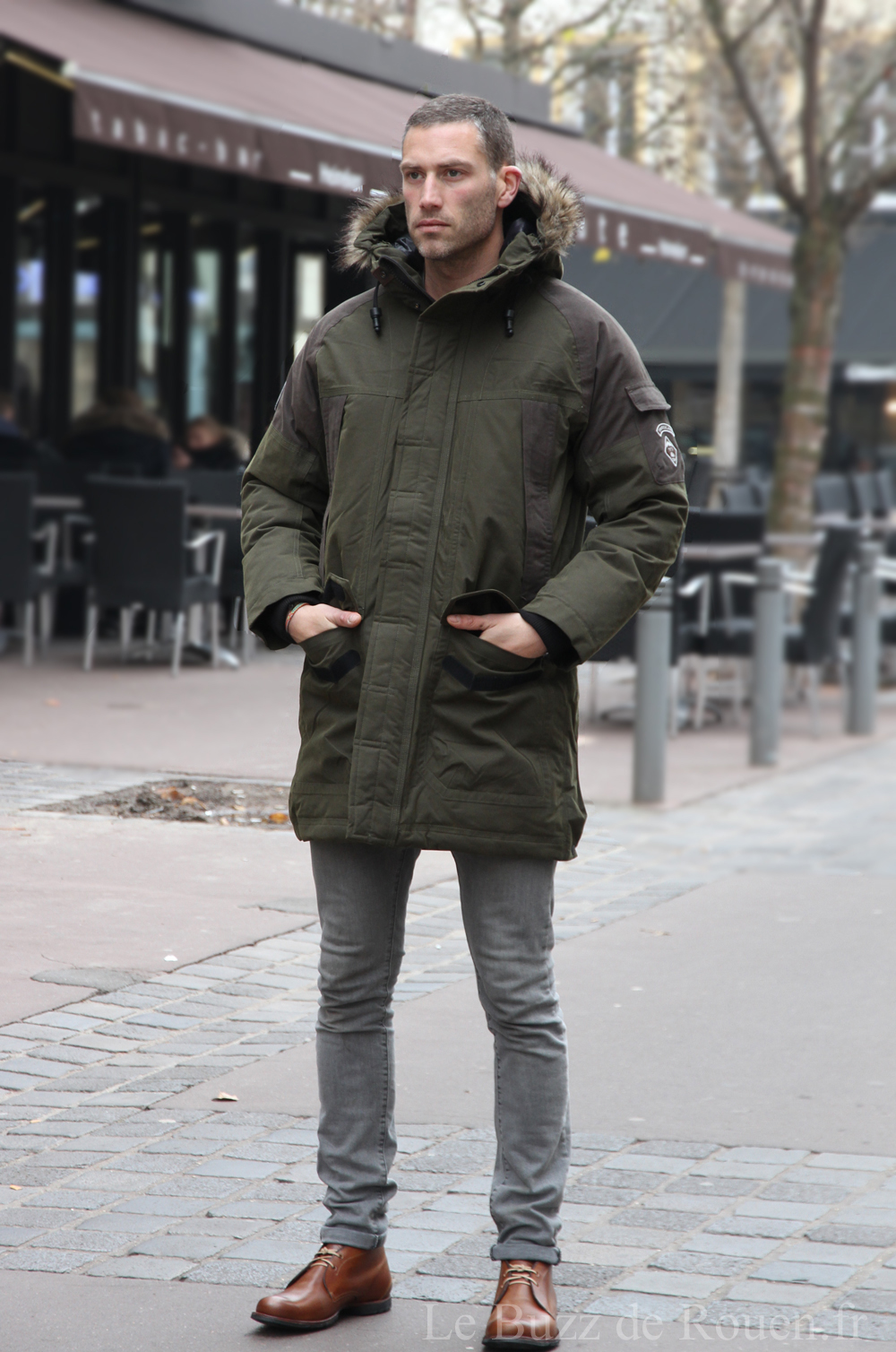 parka homme timberland