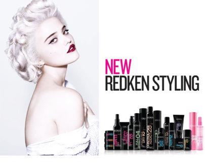 La gamme New Redken Styling