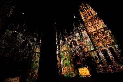 La Cathédrale de Lumière 2014