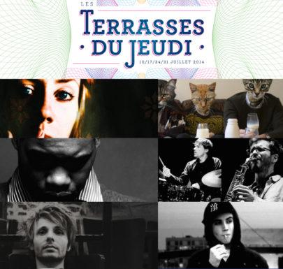 Les Terrasses du Jeudi 2014