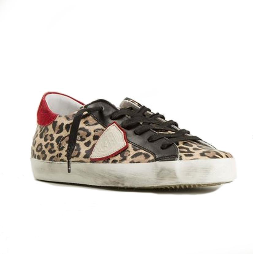 baskets-leopard-philippe-model-femme-hiver-2015 - Le Buzz de Rouen e3d2ac63cbaf