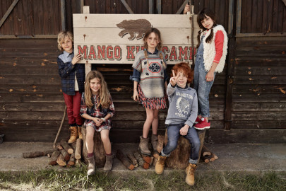 Mango Kids Fille, rentrée 2014