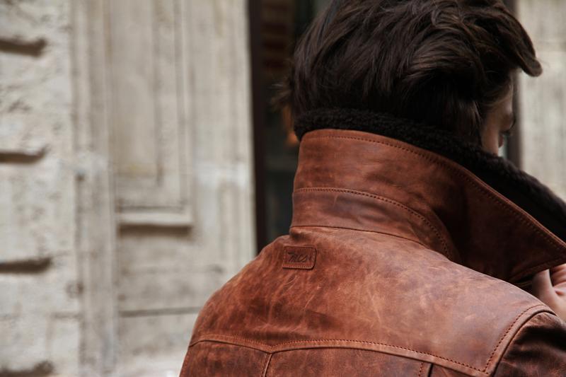 Mcs blouson cuir homme