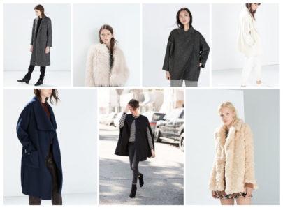 Les 7 Manteaux Zara
