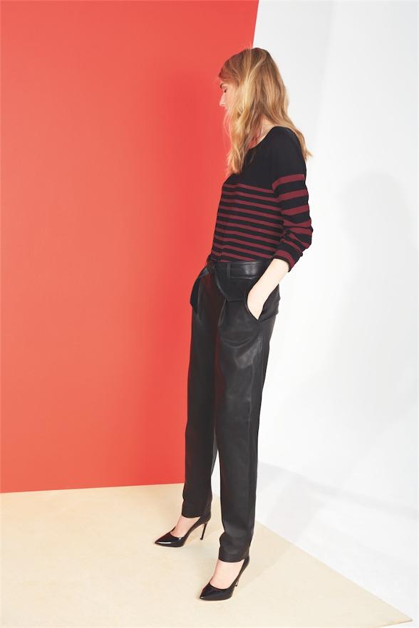 Pantalon cuir comptoir des cotonniers le buzz de rouen - Cuir comptoir des cotonniers ...