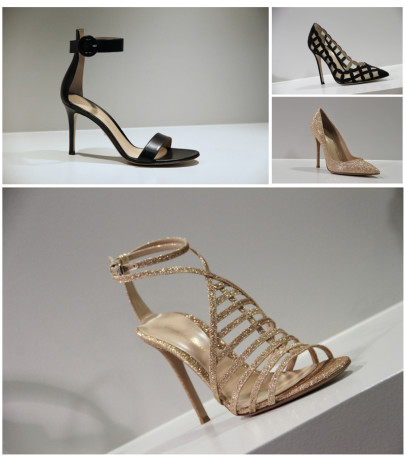 4 souliers Gianvito Rossi