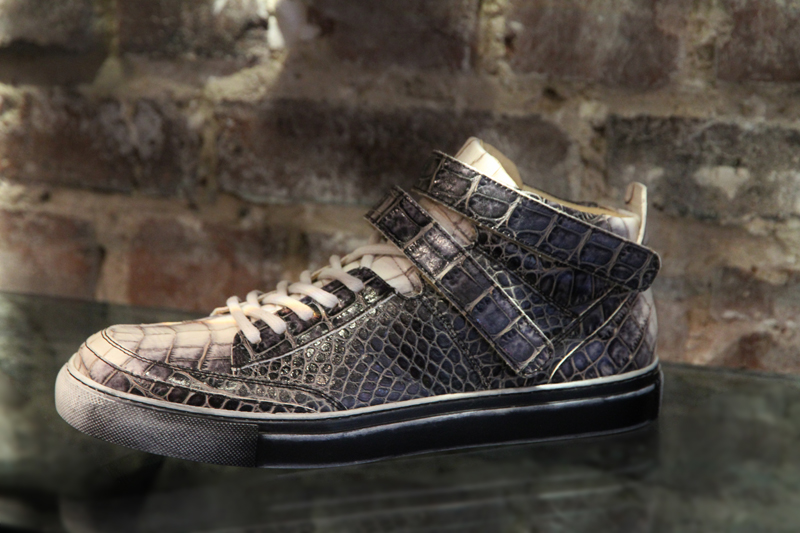 sneaker-croco-homme-Free Lance