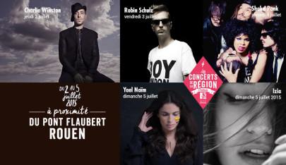 Les Concerts gratuits de la Région 2015
