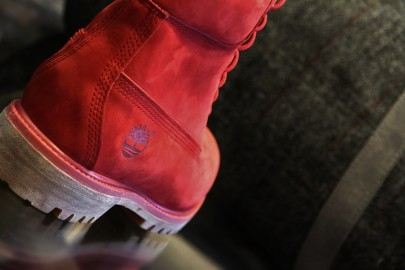 La Red Boot Timberland Homme