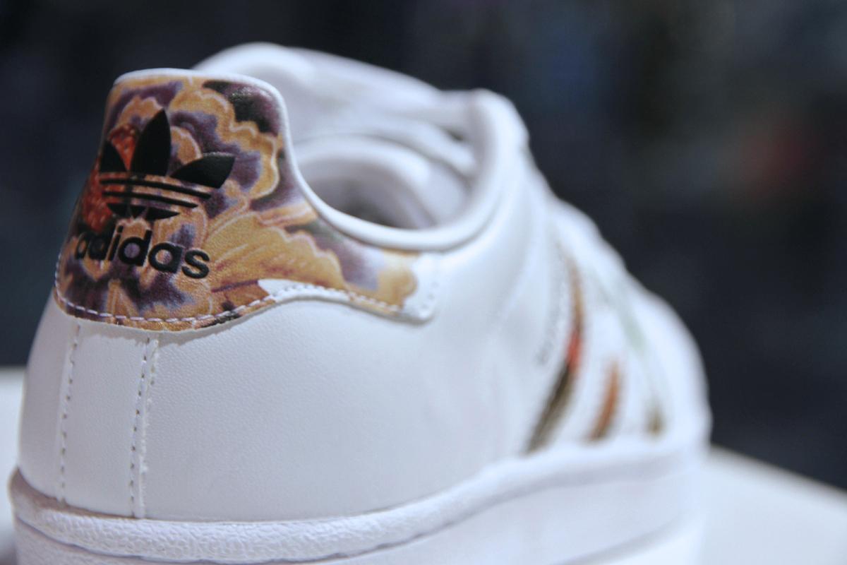 Adidas Superstar Femme Fleur