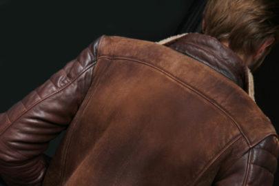 Le Blouson de cuir MCS