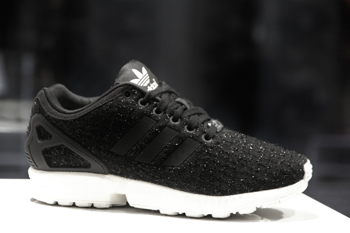 adidas zx flux brillantinate
