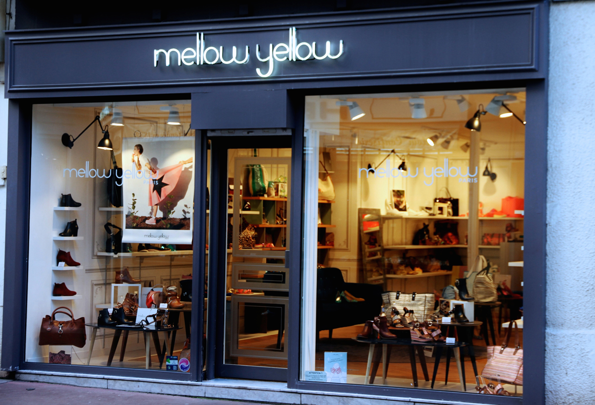 Octobre Girly chez Mellow Yellow