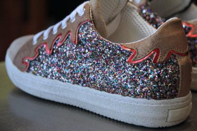 Sneakers Glitter dans Le Boudoir Rock