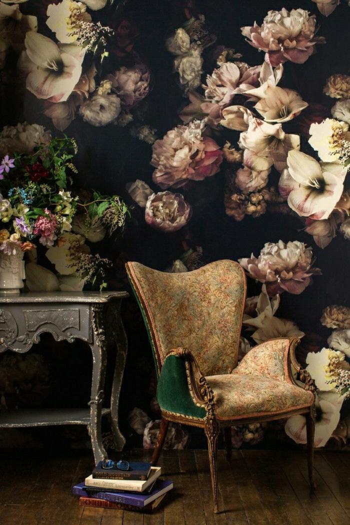 Idees De Decoration Mural Papier Peint Designer Guild Idee Fleurie