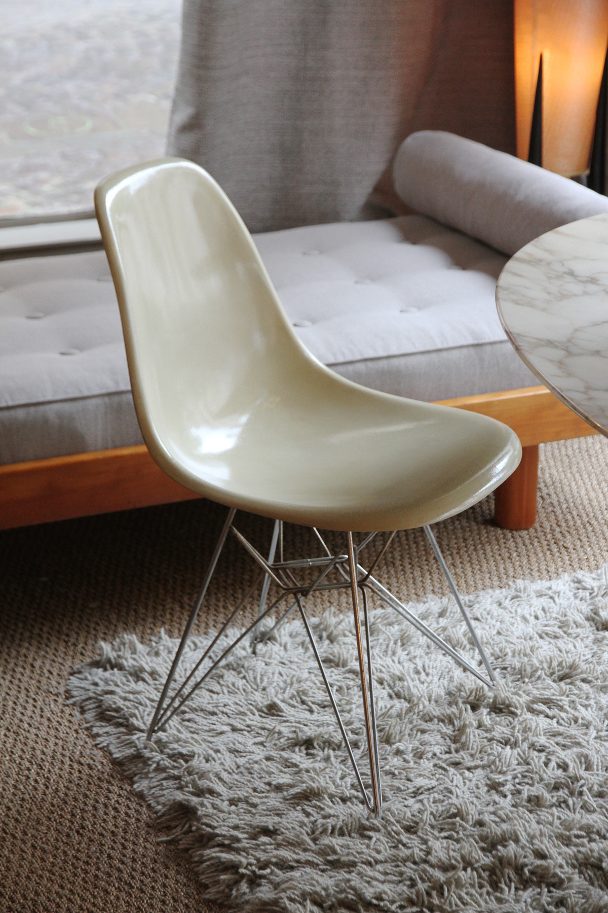 Latest Chaises Eames Pieds Eiffel With Pied Chaise