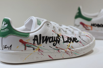 Des Stan Smith arty à La Suite