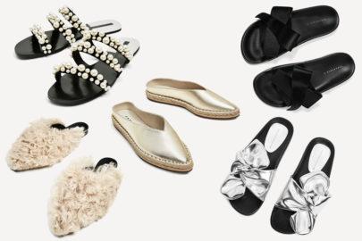 Les chaussures de l'été chez Zara