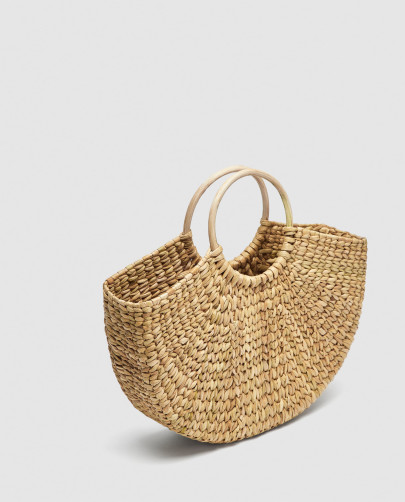 Les paniers à shopper chez Zara