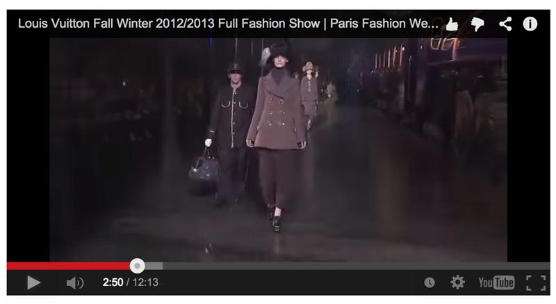 Le Défilé Louis Vuitton,  AH 2011-2012