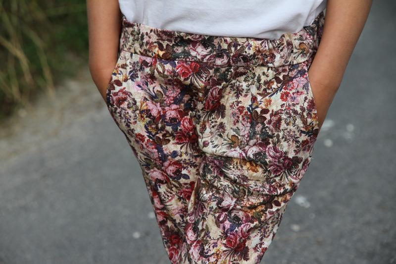 Le Pantalon Fleuri Zara Kid's