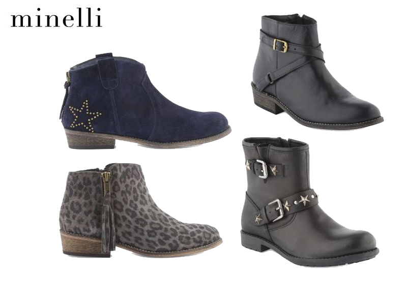 Les Boots Kid's Minelli, Automne 2013