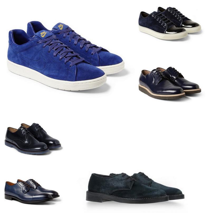 Blue Shoes Homme Hiver 2015