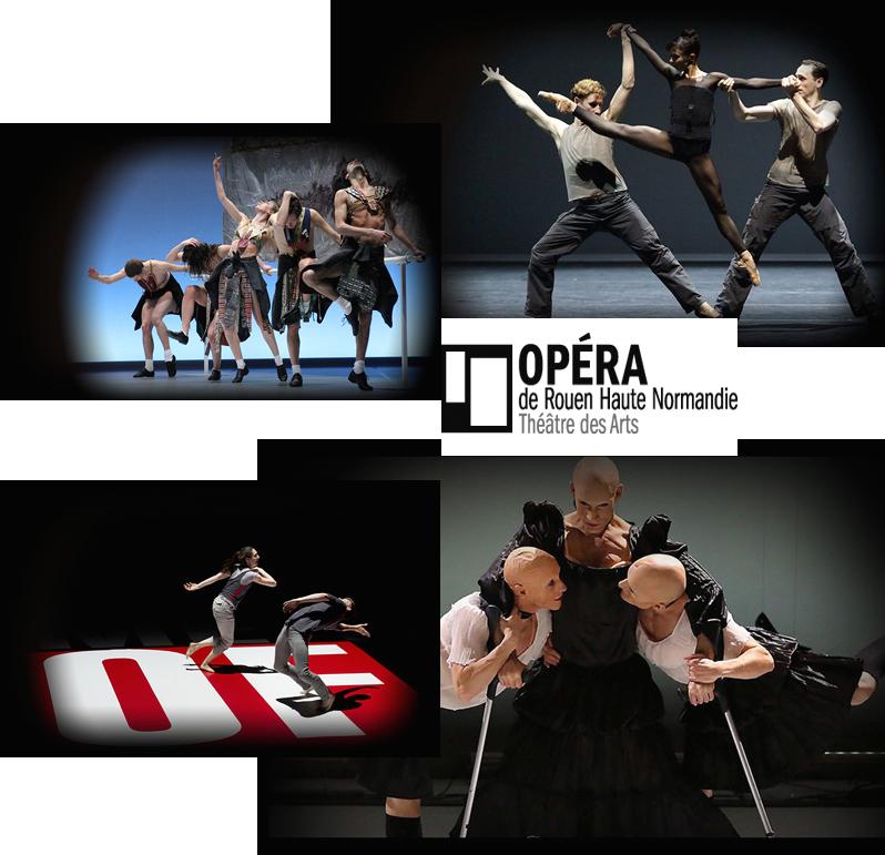 La Programmation Danse de l'Opéra de Rouen