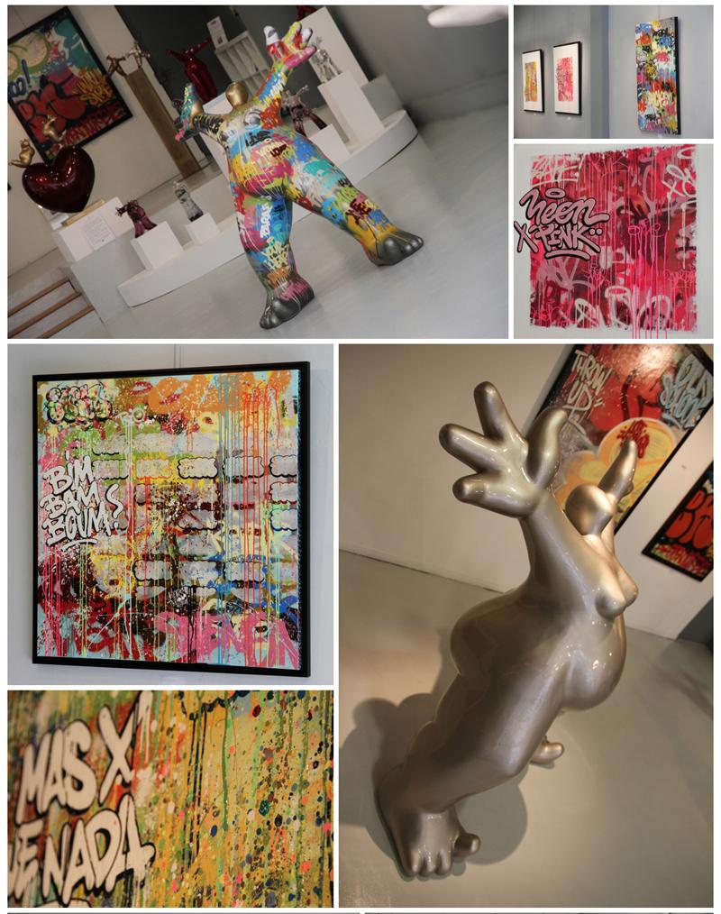Exposition Dreano-Sven, Espace de la Calende