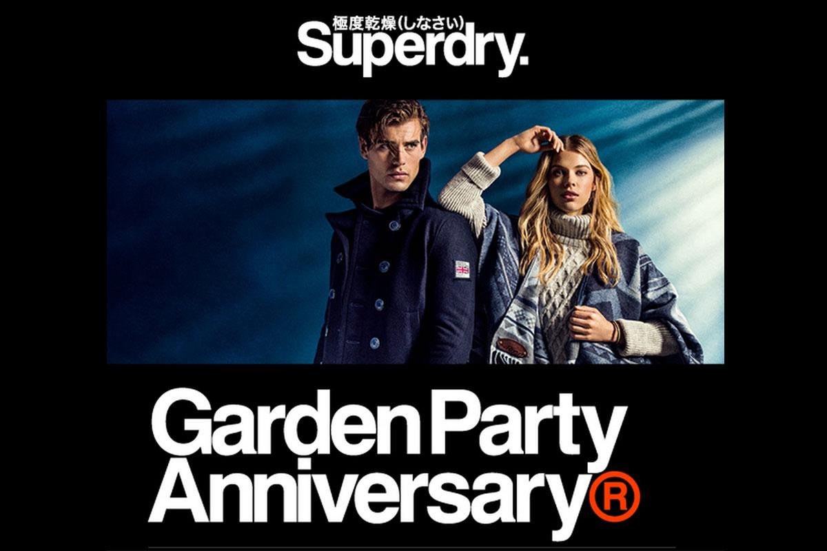 La Garden Party Superdry, Jeudi