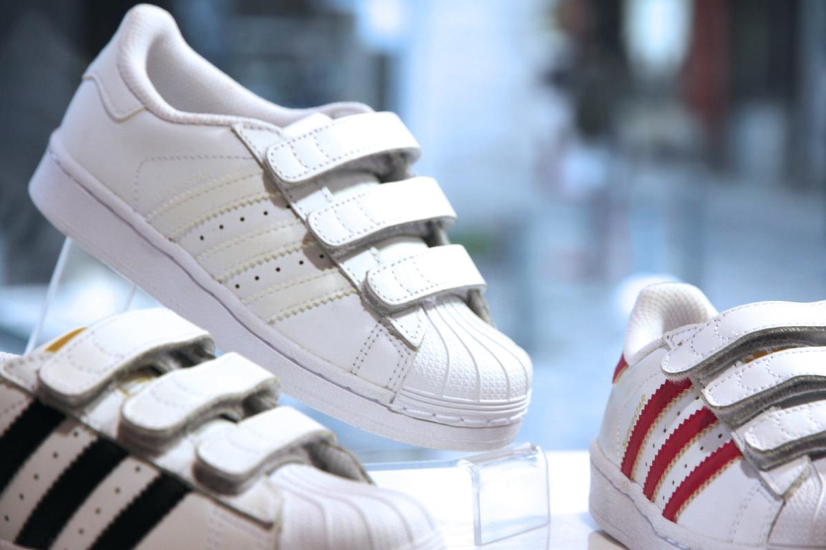 adidas superstar blanche enfant