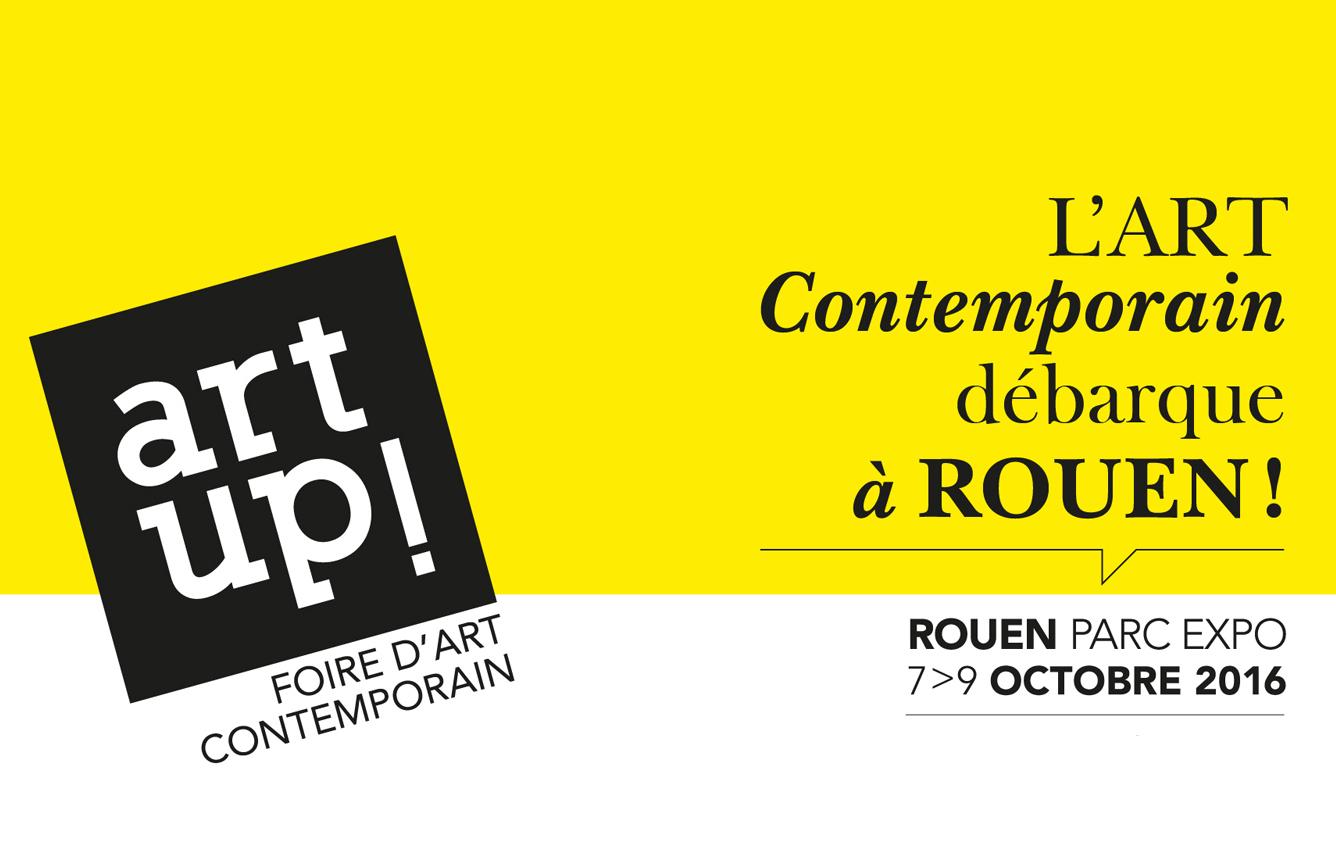 Art Up! foire d'art contemporain à Rouen