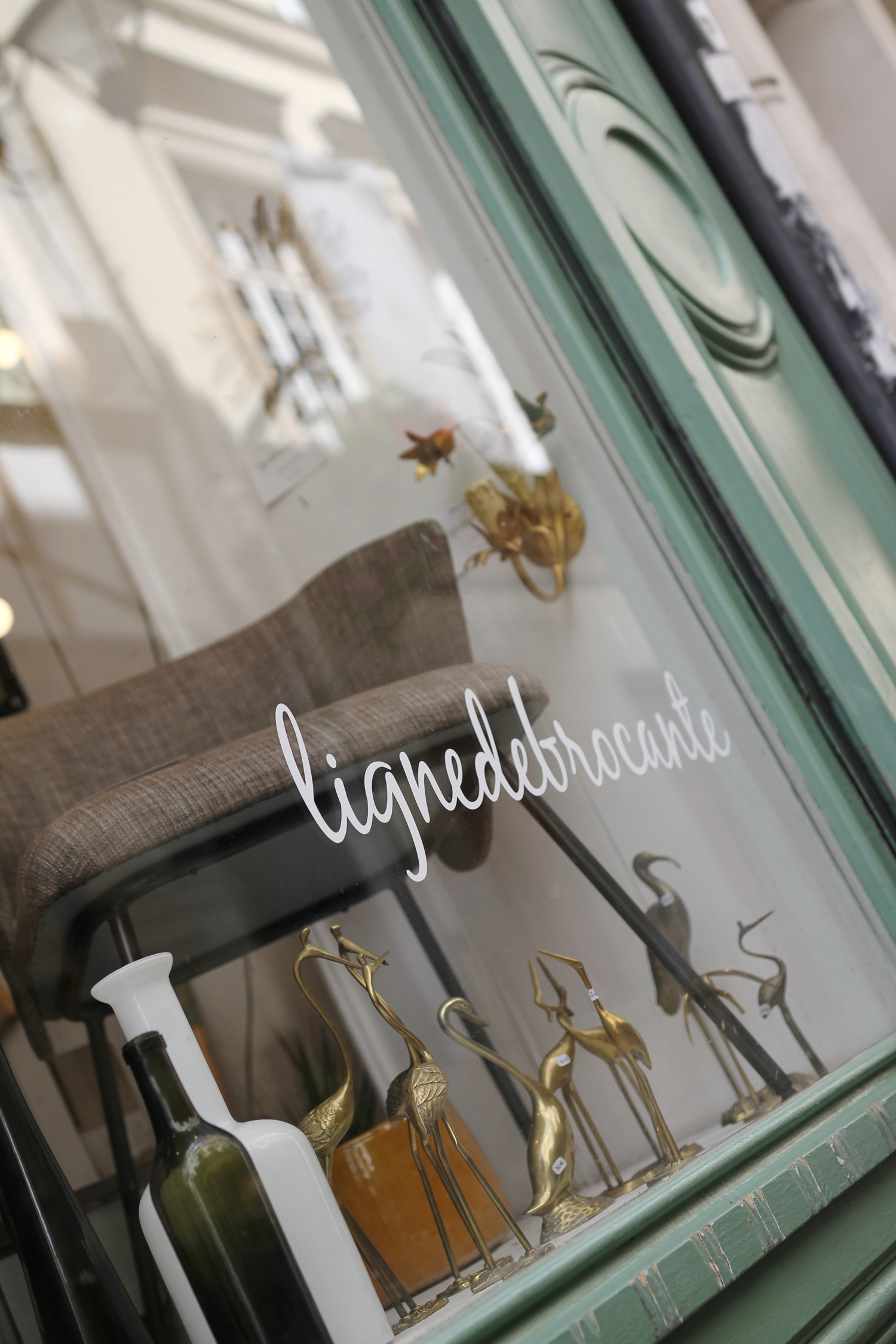 La nouvelle boutique Ligne de Brocante